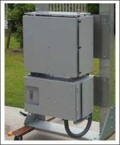 パナソニック 小型・軽量化を実現した「屋外インフラ用創蓄連携装置」