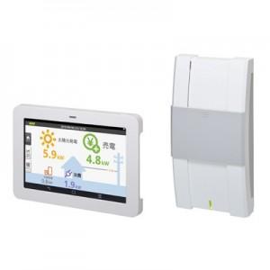 住宅向け太陽光発電システム用モニター